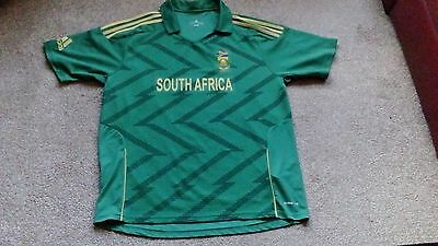 "Official adidas South Africa  cricket Shirt XXL 46-48"" South Africa"