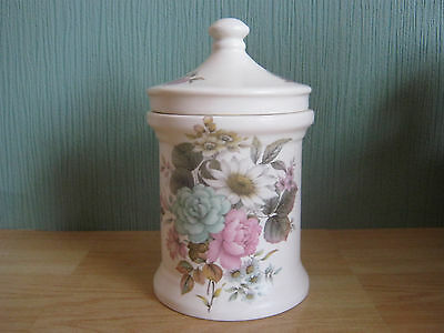 Vintage Floral Pattern Purbeck Pottery Gifts Poole Storage Jar