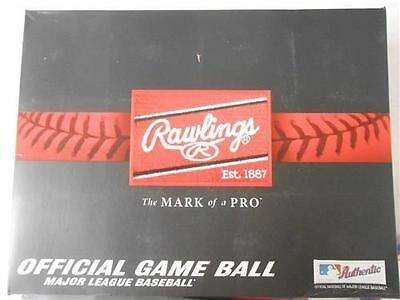 New 12 Rawlings Official Major League Baseball ROMLB 1 dozen game balls Manfred