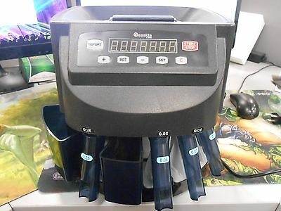 Cassida C200 Coin Sorter and Counter with LED Display *2000 Coin Maximum*