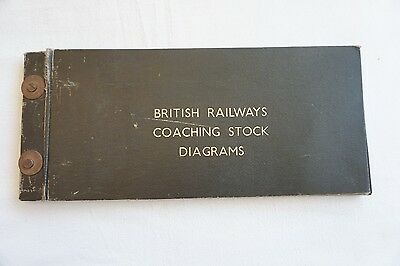 Bound British Railways Coaching Stock Diagrams Book