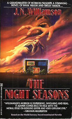 The Night Seasons by J. N. Williamson, Zebra Books 1st edition paperback, 1991