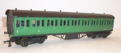 KIT BUILT 00 gauge BR SOUTHERN COMPOSITE COMPARTMENT COACH - GREEN - 35157,   n
