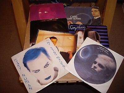 Gary Numan.7 Records.45Rpm.are Friends Electric/my Dying Machine/this Is Love/