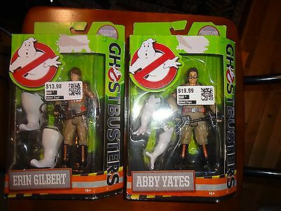 "Ghostbusters 2016 Abby Yates Erin Gilbert Mattel 6"" Action Figure New Free Ship"