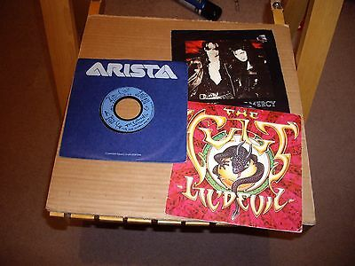 The Cure/the Cult/sisters Of Mercy.3.records.45Rpm.
