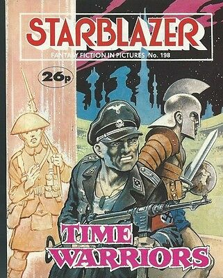 Time Warriors,starblazer Fantasy Fiction In Pictures,no.198,comic,1987