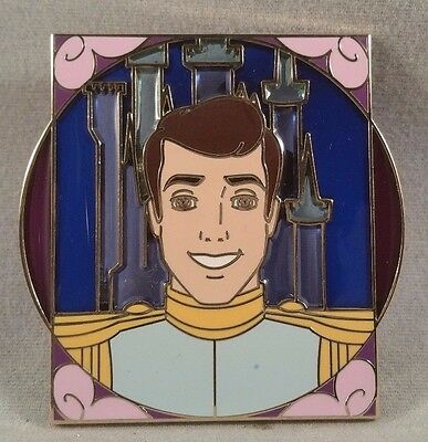 Disney Pin Disney Royalty Reveal and Conceal Mystery Collection Prince Charming