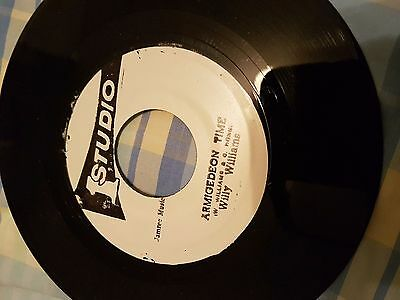 Willy Williams - Armigedeon time - Studio 1 Records  - 45