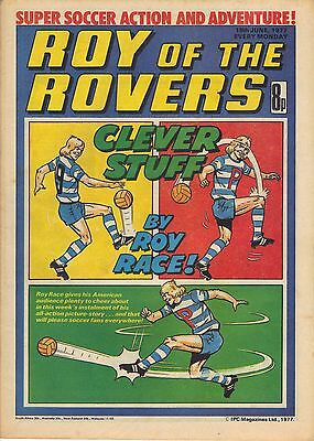 Roy of the Rovers issue dated June 18th 1977