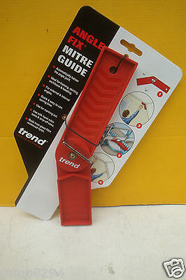 Trend Anglefix Mitre Guide For Mitre Saw Cutting & Joints