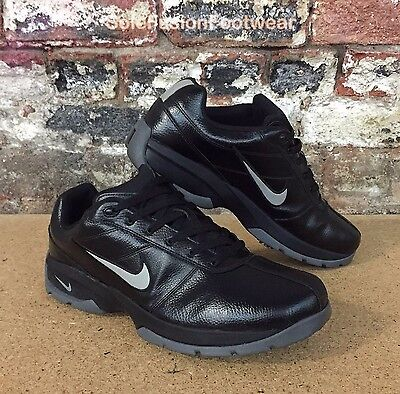 Nike Mens Power Channel Golf Shoes Black/Grey Size UK 12 TAC Sneakers US 13 47.5