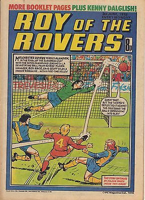 Roy of the Rovers issue dated June 3rd 1978