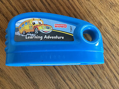 Fisher-Price Smart Cycle Learning Adventure School Bus Game Cartridge