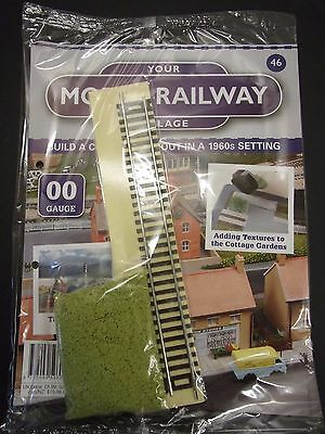 Your Model Railway Village Magazine No 46 straight track & clumpy scatter
