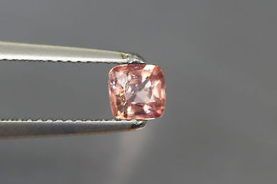 0.590Ct 100% Nr' Hot Rich Sparkling Top Orange Bur-Mese Unheated Rare Spinel~!!!