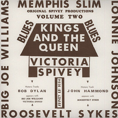 Victoria Spivey - Kings And The Queen (Vinyl LP - 2013 - EU - Original)