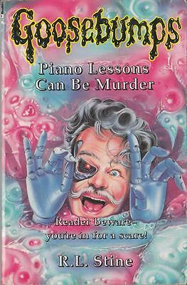 Piano Lessons Can be Murder - R L Stine - Scholastic Hippo - Good - Paperback