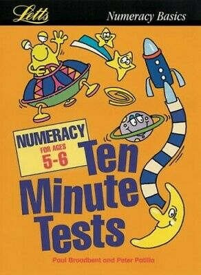 KS1 Ten Minute Tests: Numeracy (ages 5-6): Age 5-6 by Broadbent, Paul Paperback