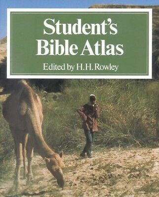 Student's Bible Atlas, Harold H. Paperback Book The Cheap Fast Free Post