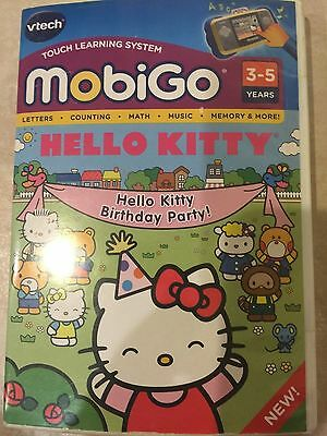 Vtech MobiGo Hello Kitty Touch Learning System Game 3 - 5 years NEW