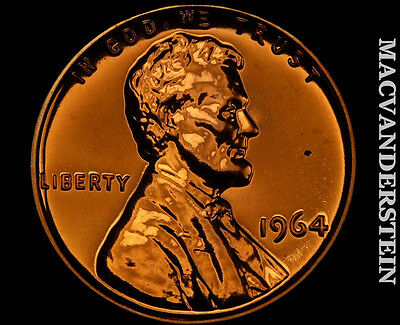 1964 Lincoln Memorial Cent- Proof !! Luster !! No Reserve !! #p382