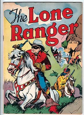 Lone Ranger, The1 Strict (Jan-48) 7.0 FN/VF Mid-High-Grade The Cave Of The Ghost