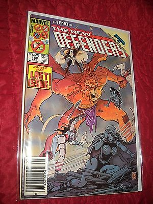 The New Defenders  # 152 Tough 6.5 Fine+ 1985 Double Size Last Issue!!