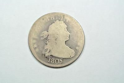 1805 Draped Bust Quarter, AG/Good Condition - C2653