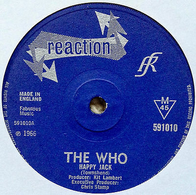 The Who: Happy Jack/i've Been Away