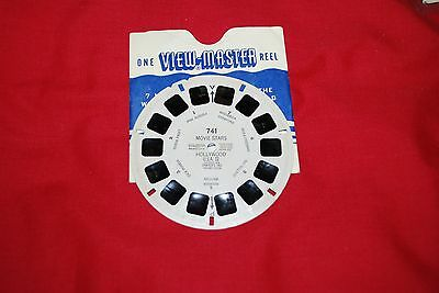 View Master Single Reel Ref 741 Movie Stars Hollywood 2 Jane Russell Version