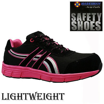 Ladies Lightweight Steel Toe Cap Safety Work Trainers Shoes Boots Women Size