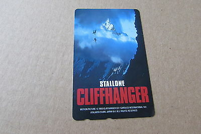 Cliffhanger Stallone Movie Mint Unused Phonecard From Japan