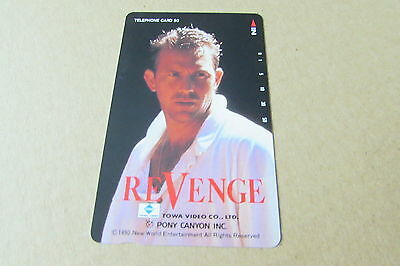 Revenge Kevin Costner Movie Mint Unused Phonecard From Japan