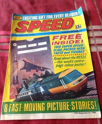Speed Comic 1st March 1980 Issue No 2