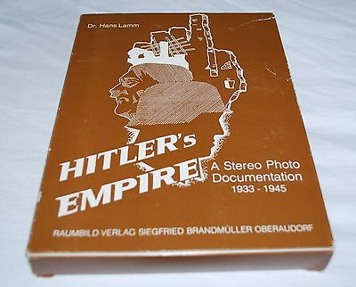 World War 2 Stereo Viewer  & Book Hitlers Empire Complete & In Excellent Cond