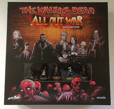 The Walking Dead All Out War Tabletop Game Painted