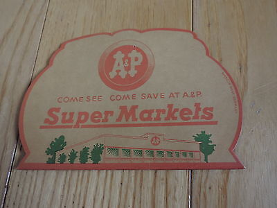 Needle Book Advertising A& P Super Market Vintage Sewing Needles (a995)