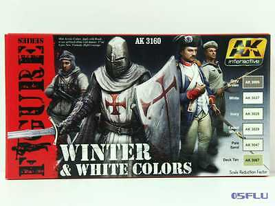 AK interactive 3160 white & winter colors - NEU!