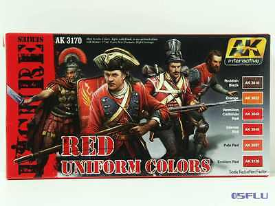 AK interactive 3170 red uniform colors - NEU!