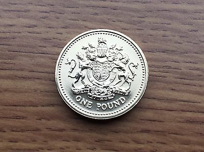 2003 £1 BU Coin - Royal Arms - Royal Mint One Pound UNC Uncirculated