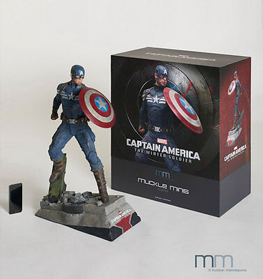Muckle Figuren Captain America The Winter Soldier Statue Captain America 61 cm