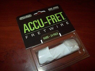 "New - Dunlop Accu-Fret 2-5/8"" Jumbo Fret Wire Set (24)"