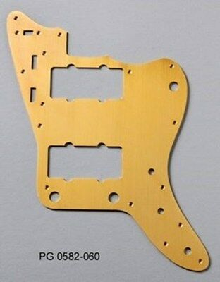 NEW - Pickguard For Fender Jazzmaster - GOLD ANODIZED