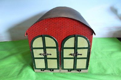 Marklin Gauge 1 Or G Scale Double Tin Plate Engine Shed Vintage
