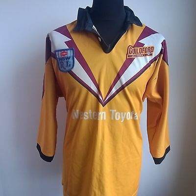 Guildford Owls 1990's Nsw L/s League Rugby Shirt Player Issue #18 Size Adult Xl