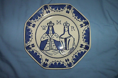 A Doulton Commemorative Plate For William And Mary