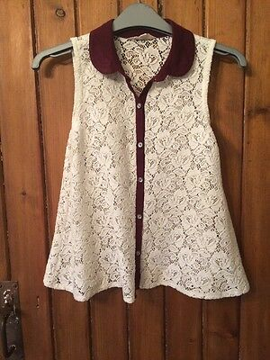 Lace Top Girls Age 10-11 Yrs