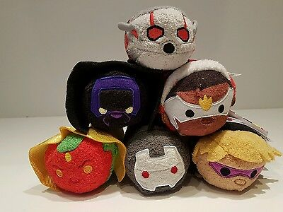 Disney Parks Marvel Avengers series 3 Tsum Tsum collection NWT 6 characters