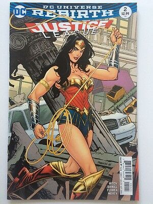 JUSTICE LEAGUE #2 Variant, DC (2016) 1st Ptg NM
